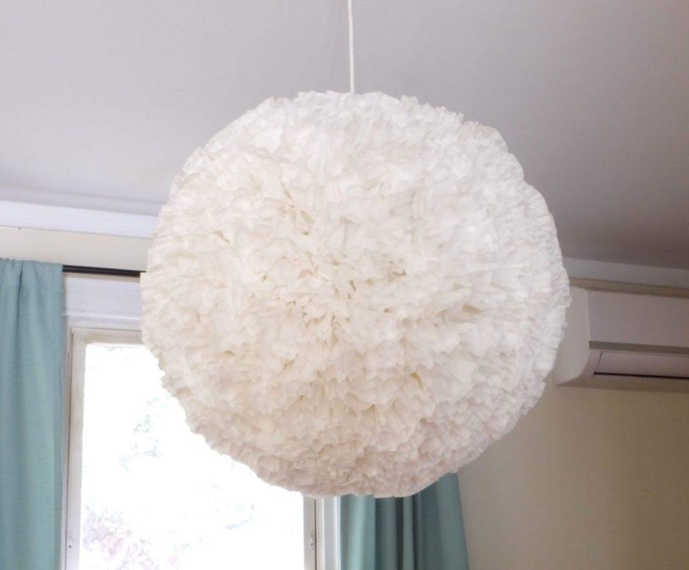 DIY paper chandelier | Little Victorian