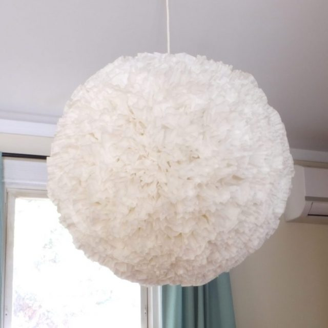 DIY paper chandelier | Little Victorian