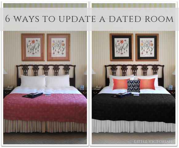 6 easy ways to update a dated room