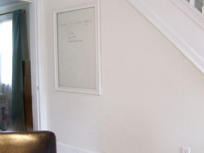 A giant, invisible dry erase board
