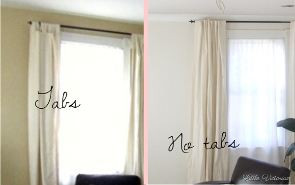 How To Make Cheap Curtains Look Expensive Hide The Tab Tops