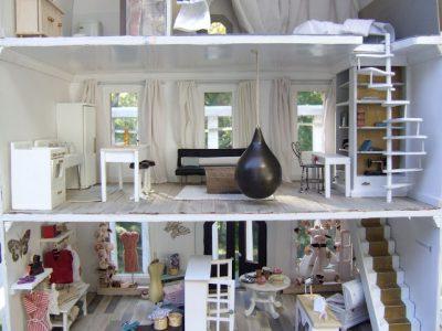 The Grand Finale! My 2013 Undersized Urbanite dollhouse
