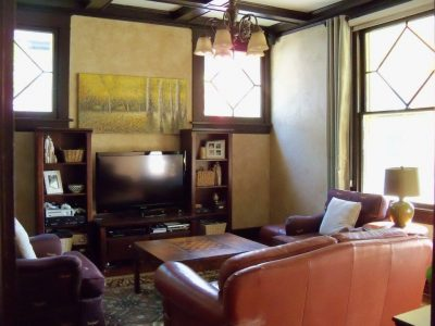 Traditional living room makeover