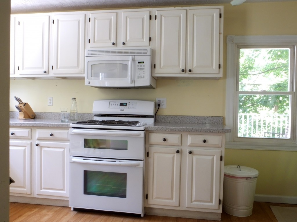 DIY budget kitchen before and after