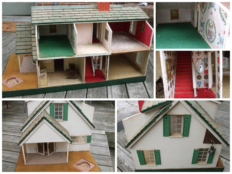 Miniature fishermans cottage | Little Victorian