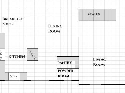 The big picture: our whole-house floor plan