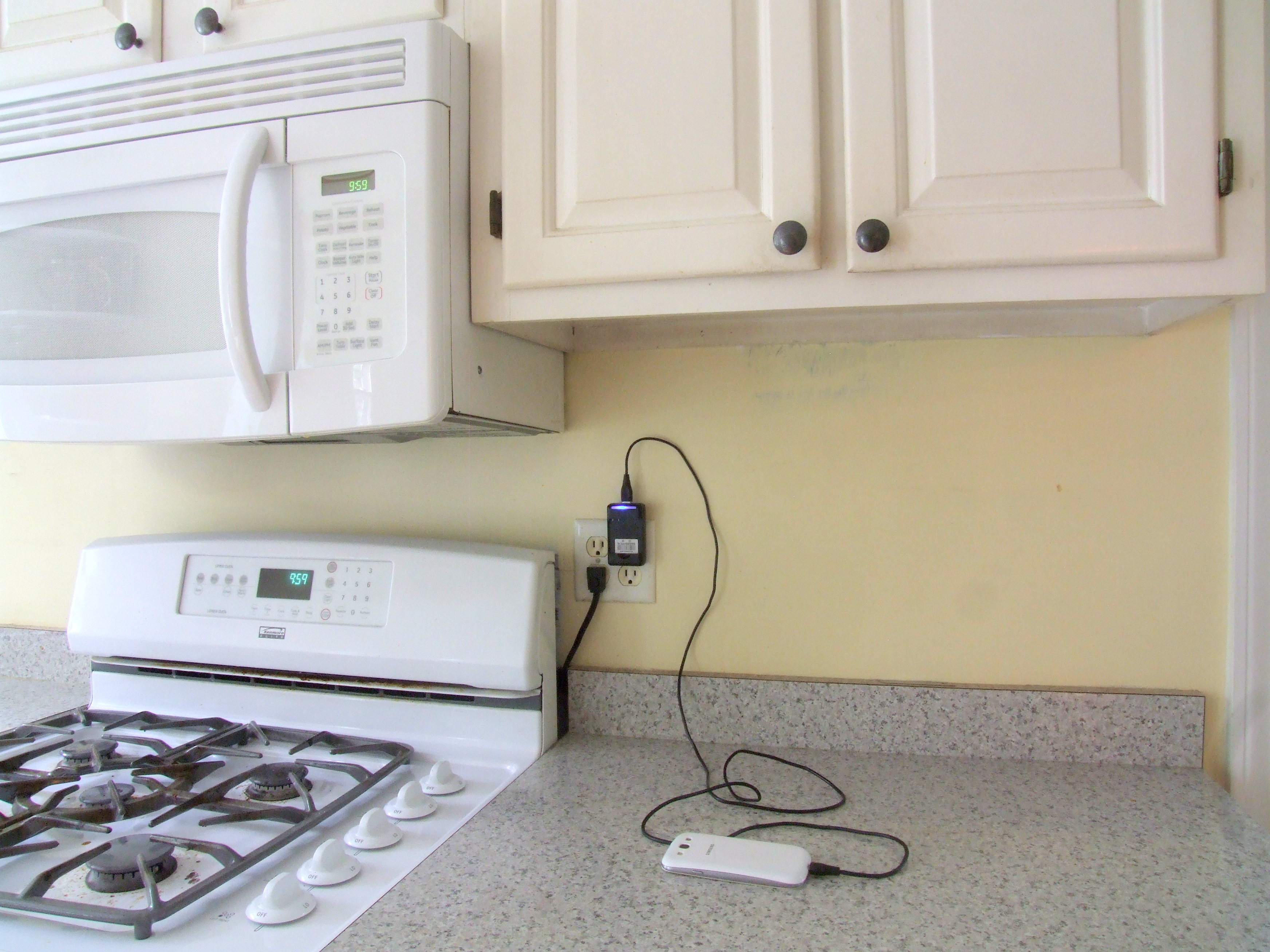 Outlets By Stove