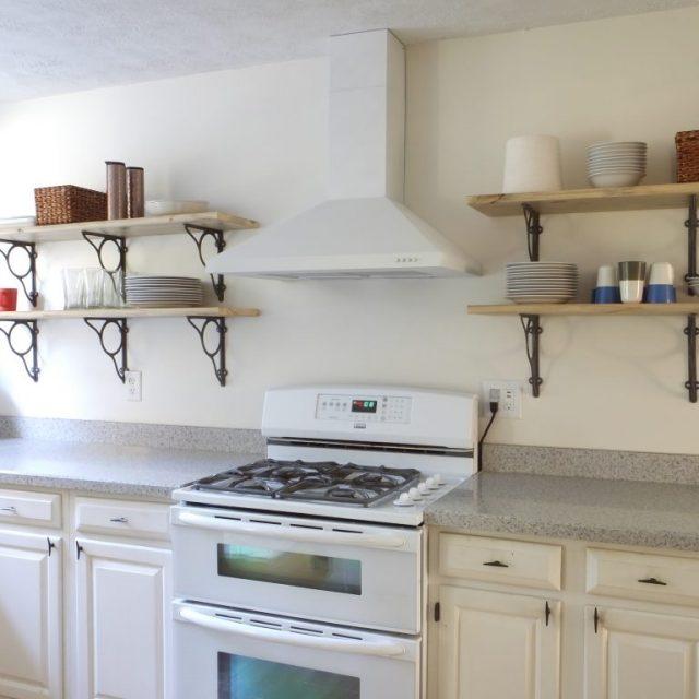 DIY kitchen renovation after