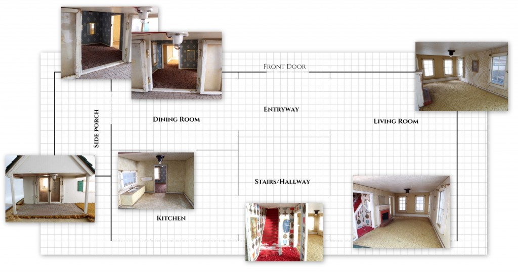 Fishermans cottage floorplan | Little Victorian