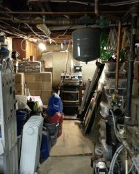 organizing the basement
