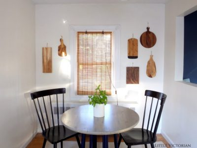 DIY kitchen wall art | Little Victorian