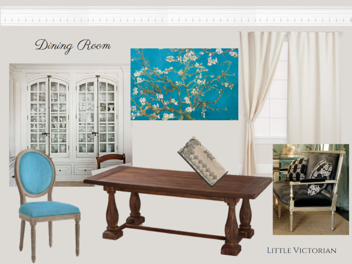 Dining room mood board | Little Victorian