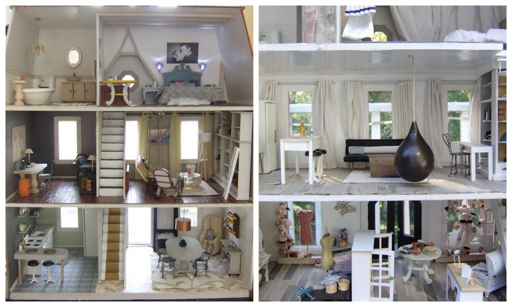 Dollhouse remodel | Little Victorian
