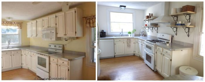 DIY kitchen before and after | Little Victorian