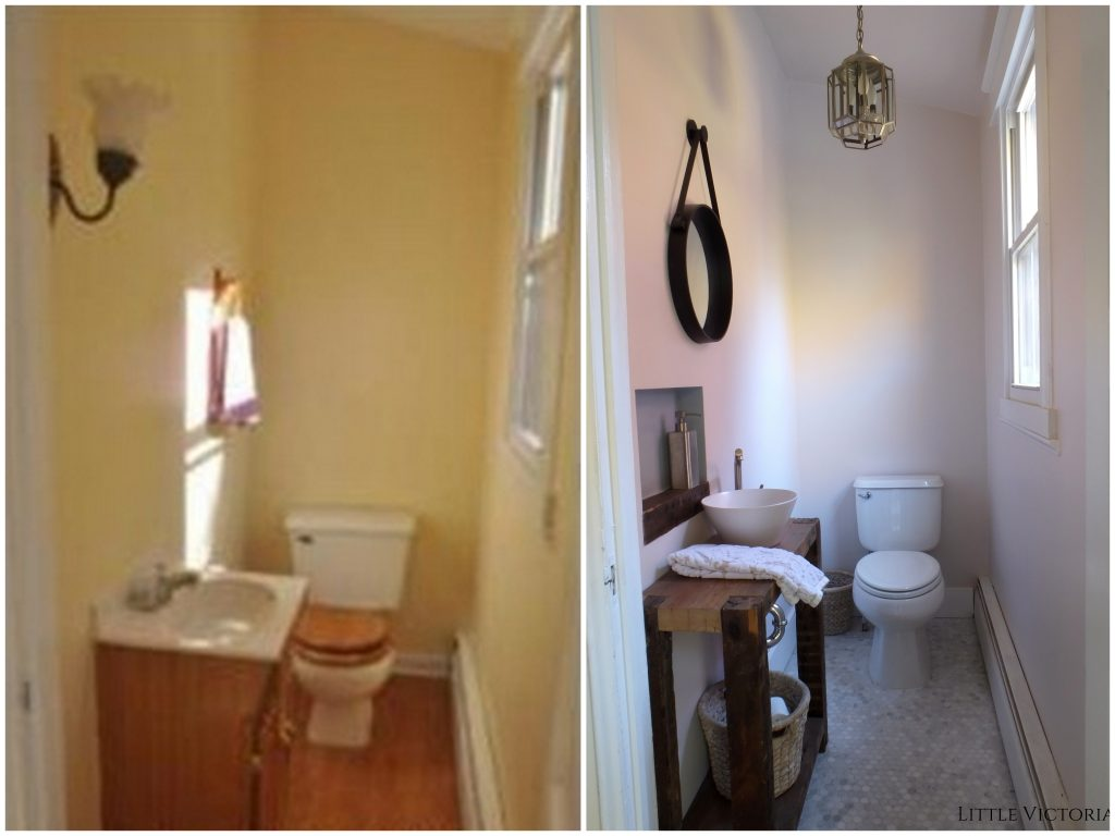 Diy Powder Room Decorating Ideas On A Budget Little