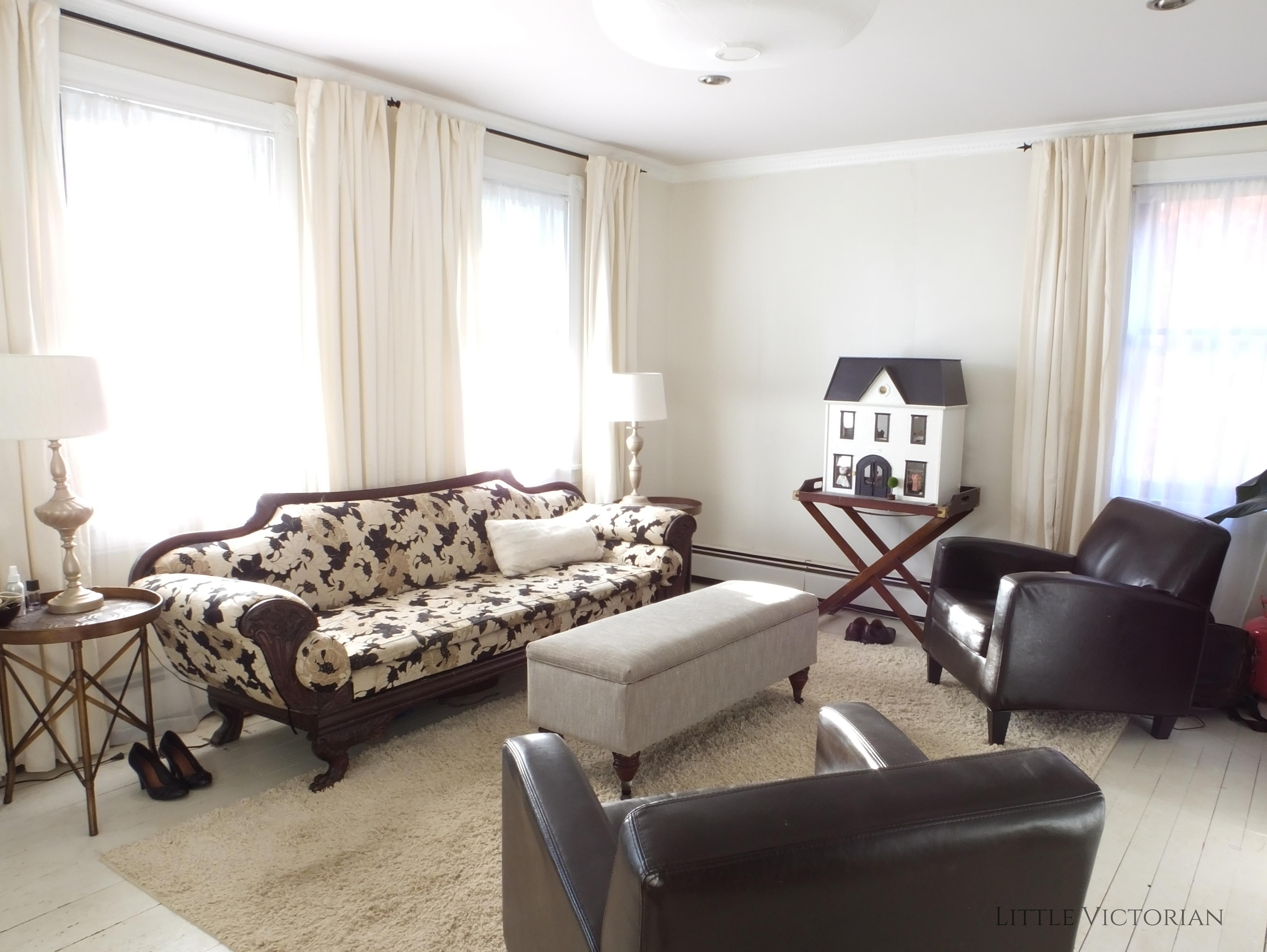 Drastic Living Room Makeover: Second Blog Anniversary Recap · Little Victorian