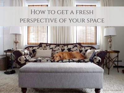 A fun way to get a fresh perspective of your room (and a few bonus photography tips)