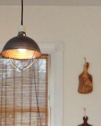 Industrial kitchen light