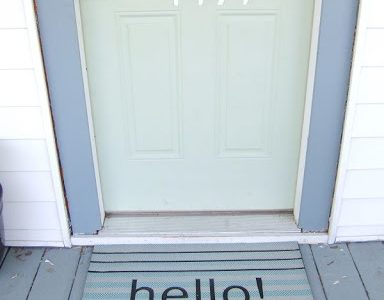 Well hello! What does your doormat say about you?