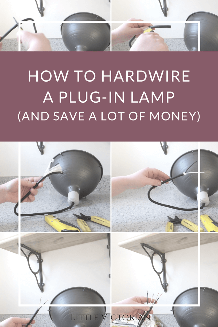 How to turn a plug in light into a ceiling light its really easy heres how to turn a plug in light into a ceiling light aloadofball