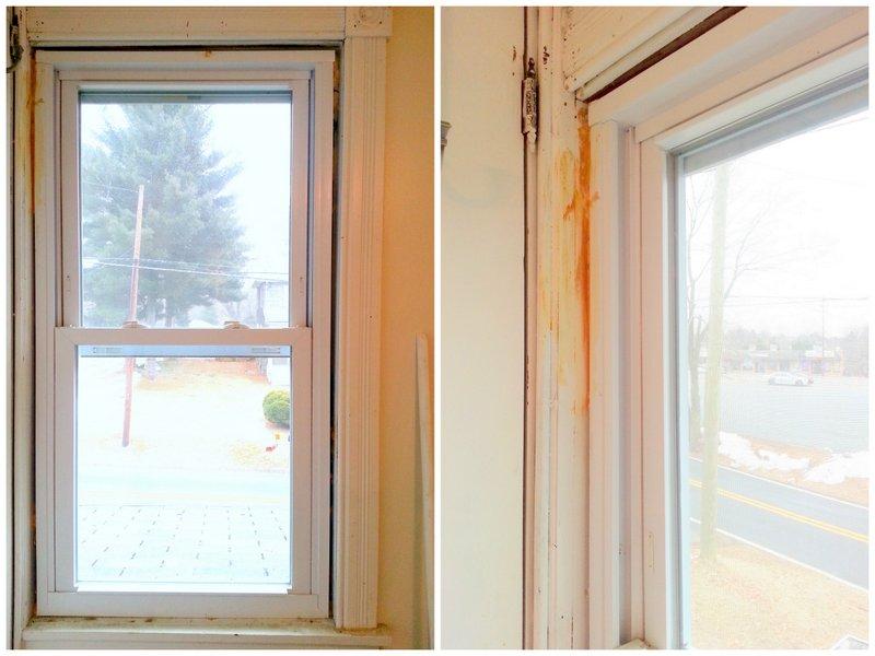 Unfinished window