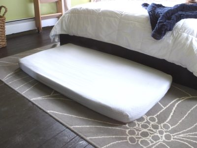 Our non-DIY, DIY large dog bed