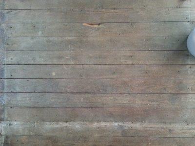 Sneak peek of the dining room floor