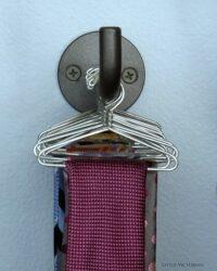 Inexpensive storage for neckties