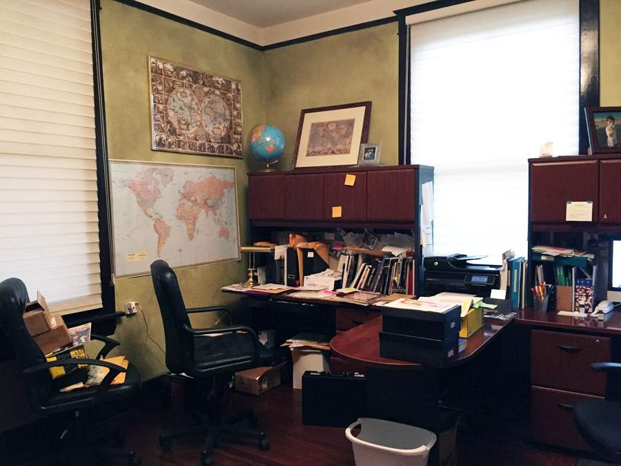 finished office makeover. Home-office-34 Finished Office Makeover O