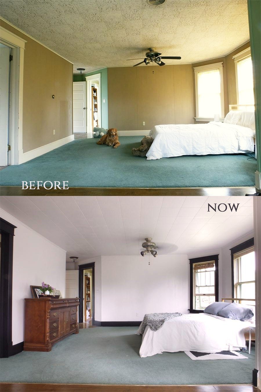 rental bedroom makeover