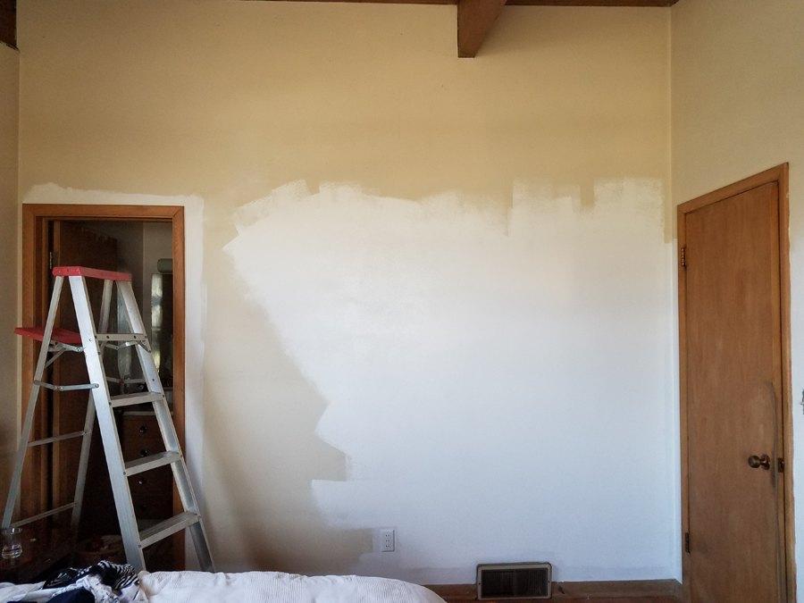 painting mcm white