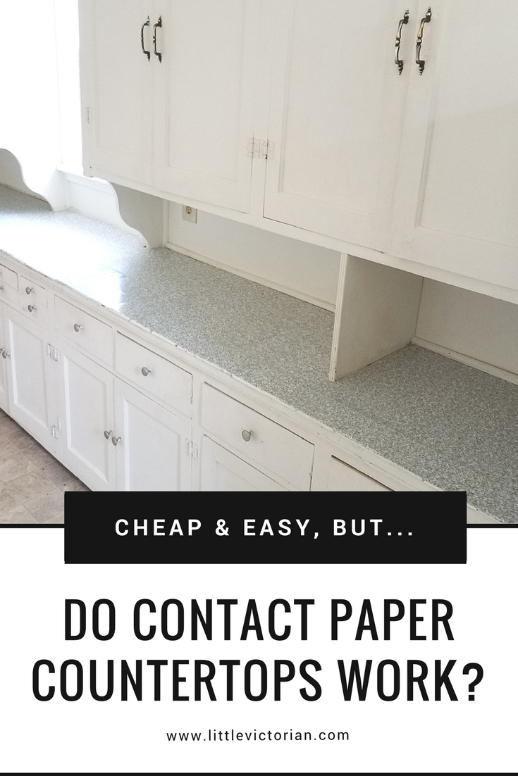 Put Contact Paper On Countertops