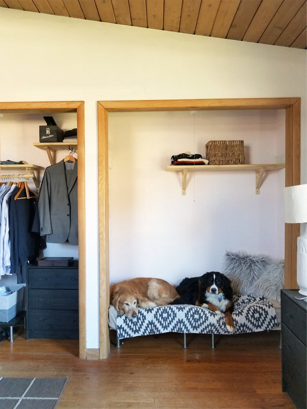 Diy Raised Dog Bed From Mdf And Inexpensive Legs From Ikea