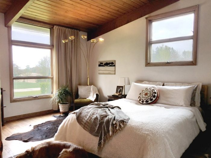 The MCM Master Bedroom